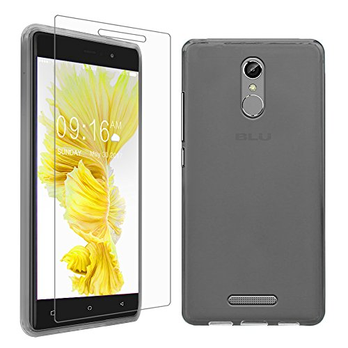 los angeles 6dc28 e196b Gzerma BLU VIVO 5R Case + Screen Protector, Ultra Slim Shock ...