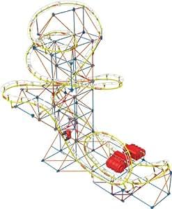 Amazon.com: K'NEX Supernova Blast Roller Coaster Building ...