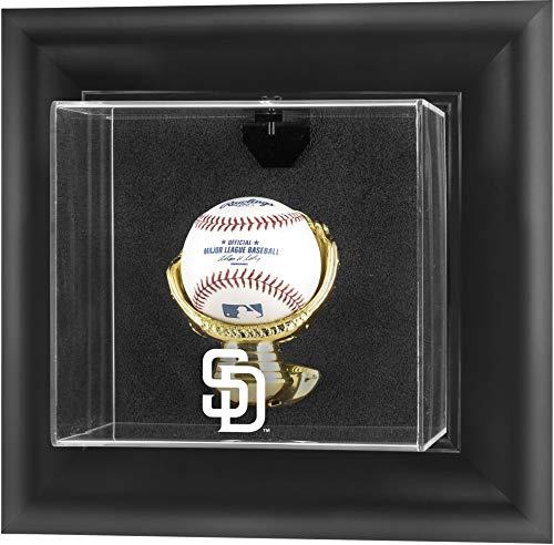 Mounted Memories San Diego Padres Framed Wall Mounted Logo Baseball Display Case