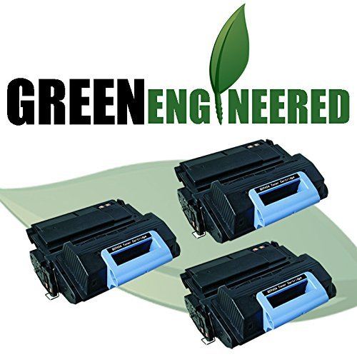 Cartridge Triple Pack (GreenEngineered HP Q5945A (45A) Remanufactured Black Laser Toner Cartridge Triple Pack for LaserJet 4345 Series)