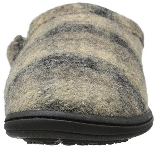 Acorn Hombres Digby Gore Mule Slipper Driftwood Plaid