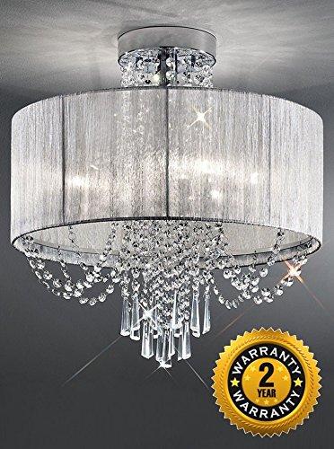 franklite lighting empress 6 light flush fl2303 6 amazon co uk
