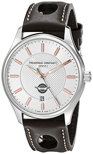 Frederique Constant Men s FC303HV5B6 Healey Analog Display Swiss Automatic Brown Watch