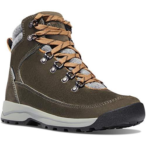 Danner Women's Adrika Hiker Wool Ankle Boot, Olive, 9 M US ()