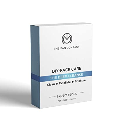 [Apply coupon] The Man Company Facial Kit (5 Steps Face Care)   Cleansing, Exfoliation, Detan