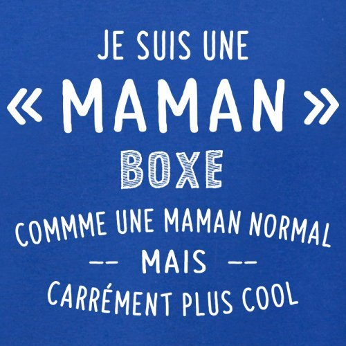 une maman normal boxe - Femme T-Shirt - Bleu Royal - M