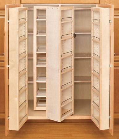 Rev-A-Shelf 57'' Swing Out Pantry Kit Organizer, Natural