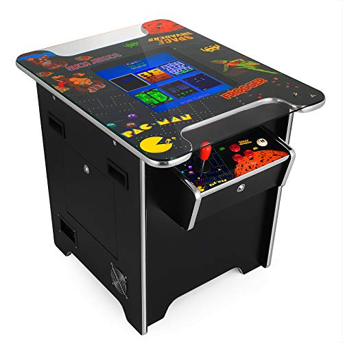 VEVOR Cocktail Arcade Game Machine with 60 Games 19 Inch Screen Classic Arcade Game Cabinet Home Commercial Settable Cocktail Table Retro Game by VEVOR (Image #9)