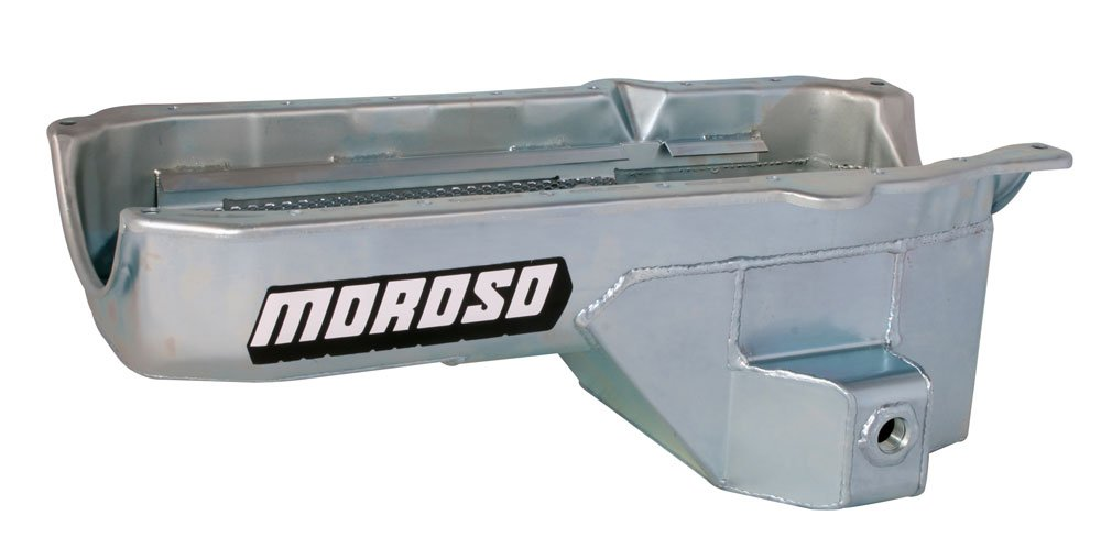 Moroso 20185 7.50 Oil Pan for Chevy Small-Block Engines