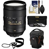 Nikon 28-300mm f/3.5-5.6 G VR AF-S ED Zoom-Nikkor Lens + Holster + 3 Filters Kit for D3200, D3300, D5300, D5500, D7100, D7200, D750, D810 Cameras Basic Intro Review Image