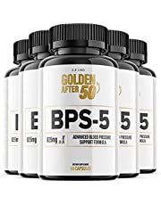 BPS-5 for Blood Pressure Supplement BPS5 Golden After 50 Pills (5 Pack)