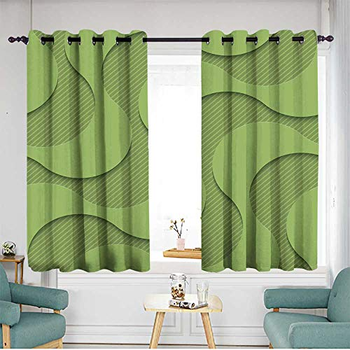 home1love Simple Curtains W 63
