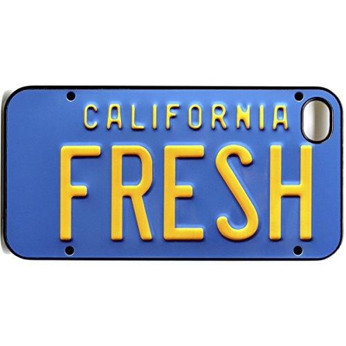 iPhone 4 4S Fresh Prince of Bel-Air Nummernschild Cool Retro Handy Case