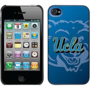 Ucla Watermark design on Black iPhone 6 4.7 Thinshield Snap-On Case
