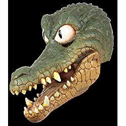 Adult Deluxe Peter Crocodile Moving Mouth Animal Mask