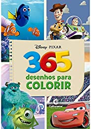 365 DESENHOS PARA COLORIR DISNEY PIXAR