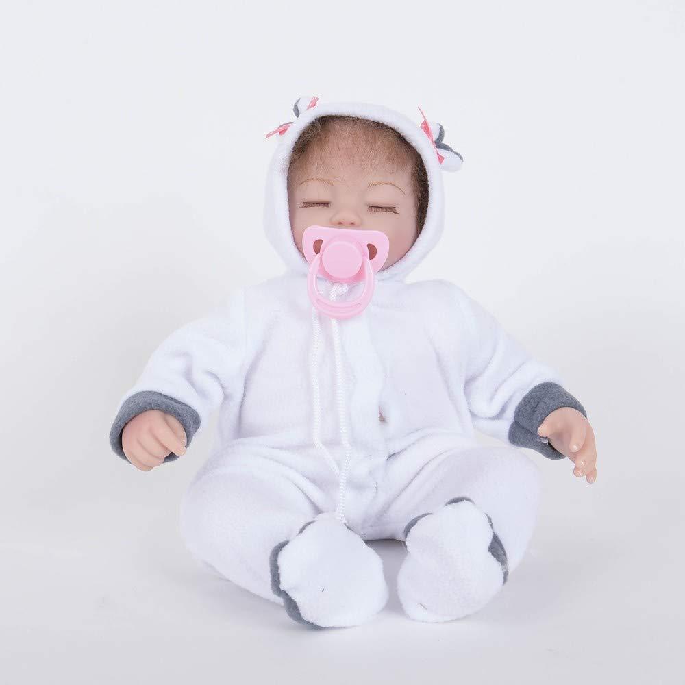 Rocking Horse 18 Zoll Baby Boy Silikon - Lebensechte Handgemachte Süße Wiedergeborene Babypuppe Sicher Ungiftig Unisex Spielzeug Geschenk
