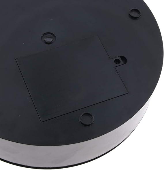 SM SunniMix Soporte Giratorio El/éctrico con Pantalla Vidrio Trabajos Industriales Materiales de Escolar Plata