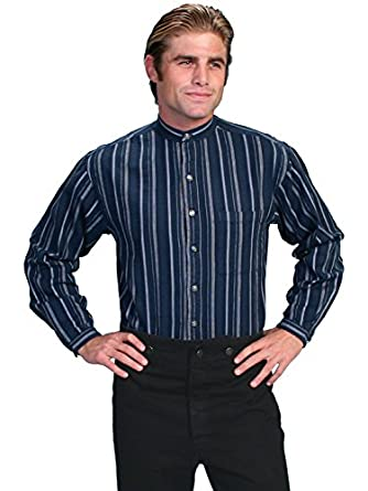 Victorian Men's Clothing, Fashion – 1840 to 1900 Lawman Shirt $49.00 AT vintagedancer.com