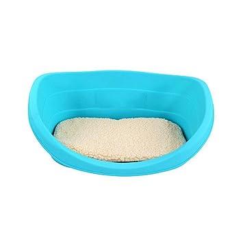 PLDDY Animal doméstico, Perro, Cama del Animal doméstico, Prenda Impermeable, Azul, los 90 * 60 * 31cm (Tamaño : 80cm*56cm*25cm): Amazon.es: Productos para ...