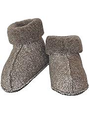SamWo el FW - Zapatillas de Estar por casa de Lana para Hombre