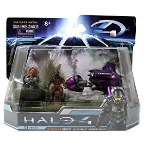 HALO 4 Combat Edition: 4.2 Covenant Ghost with Elite Zealot Imperial Grunt. by Halo 4