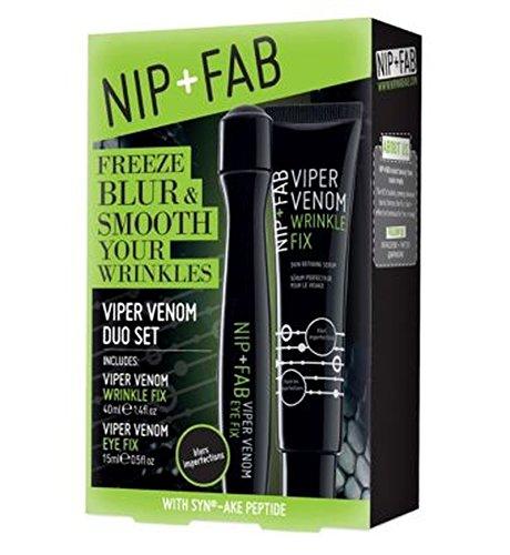 +ファブ蛇毒面とアイクリームニップ (Nip & Fab) (x2) - Nip + Fab Viper Venom Face and Eye Cream (Pack of 2) [並行輸入品]   B01MSIGYVJ