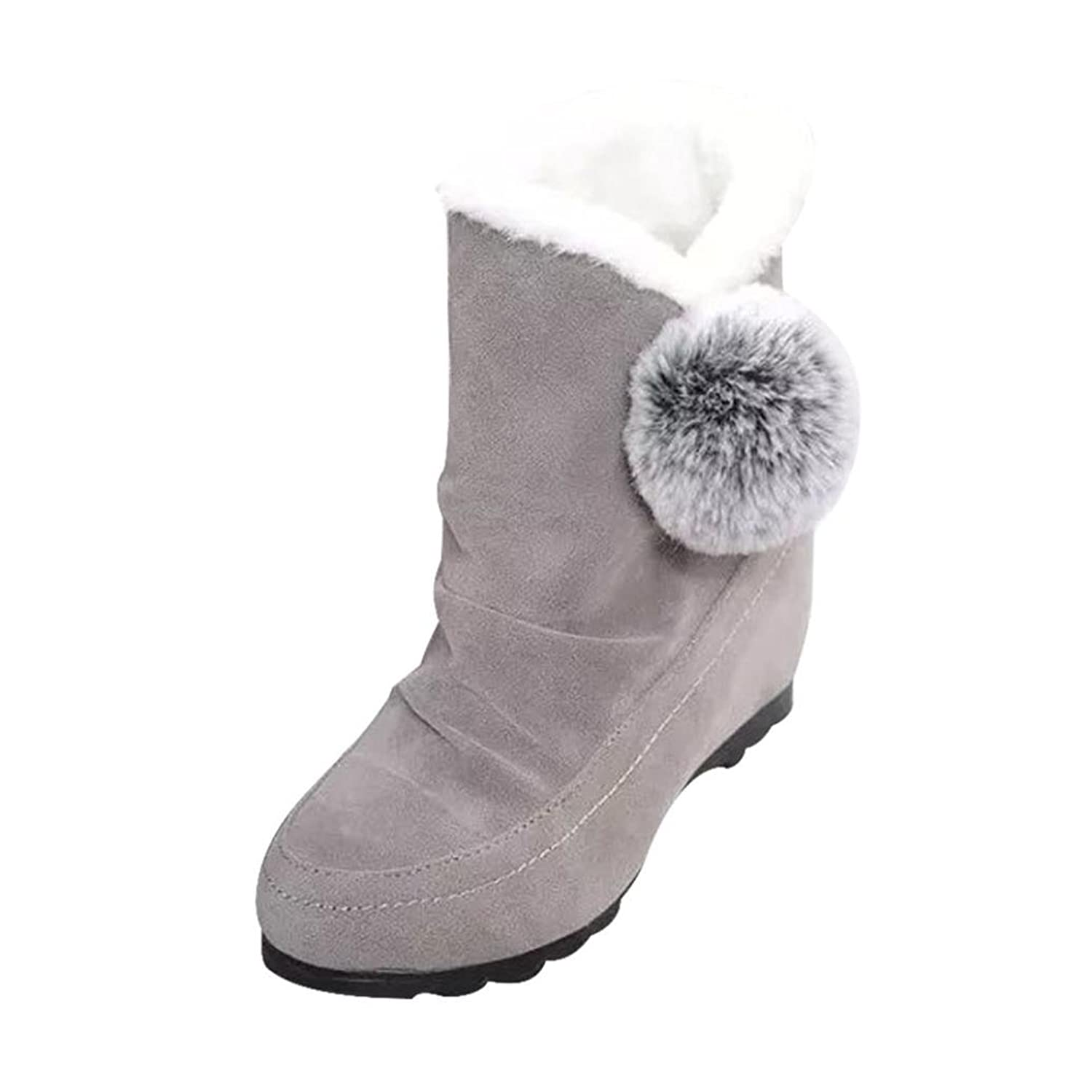 ☆ ▷ ♤ Pretty Women Fashion Warm Flat Boots