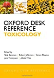 Oxford Desk Reference: Toxicology, , 0199594740