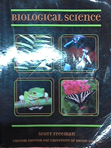 Biological Sciences (Custom Edition for University of Rhode Island)