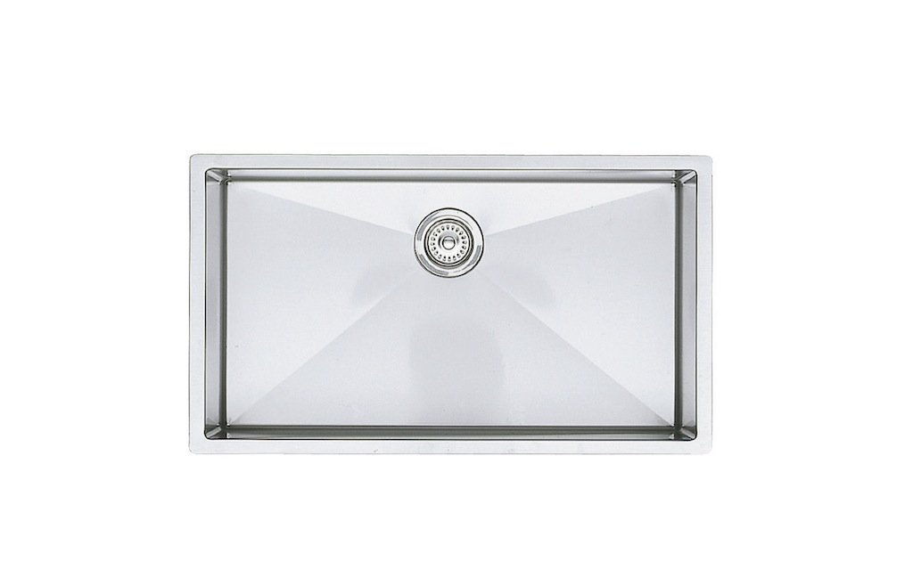 Blanco 515823 16-Inch Precision R10 Super Single Bowl Undermount Sink, Stainless Steel