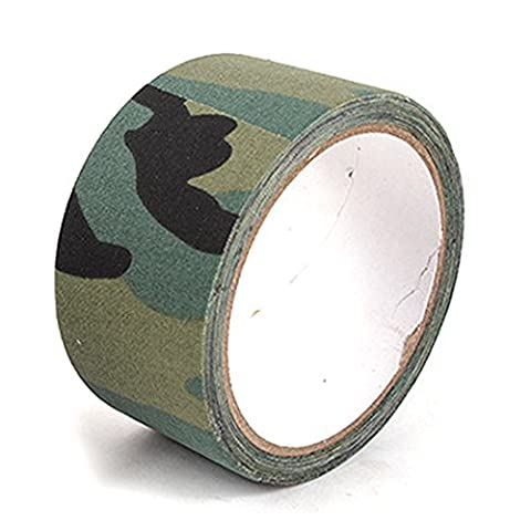 AROMEE 393.7''X2''Camo Form Protective Camouflage Wrap,3 Rolls,Jungle Camouflage - Bow Tape