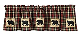 Park Designs Concord Bear Lined Valance, 60 x 14\