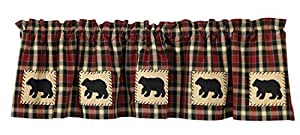 """Park Designs Concord Bear Lined Valance, 60 x 14"""""""