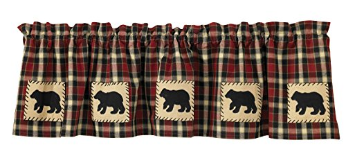 - Park Designs Concord Bear Lined Valance, 60 x 14