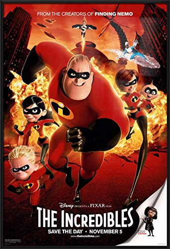 The Incredibles - Framed Disney / Pixar Movie Poster / Print