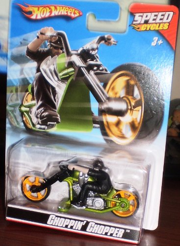 Mattel hot wheels speed cycles choppin chopper r7825 seal...