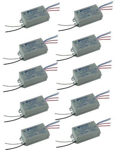 ROBERTSON 5P20029 RSO113CQ120 /A Bulk-Pak of 10 Fluorescent eBallasts for 1 CFQ13W/G24q CFL Lamp or 1 F13T5 Linear Lamp, Preheat-Rapid Start, 120Vac, 50-60Hz, Normal Ballast Factor, NPF,(Replaces Model RSO113CQ120 (Npf Magnetic Ballast)