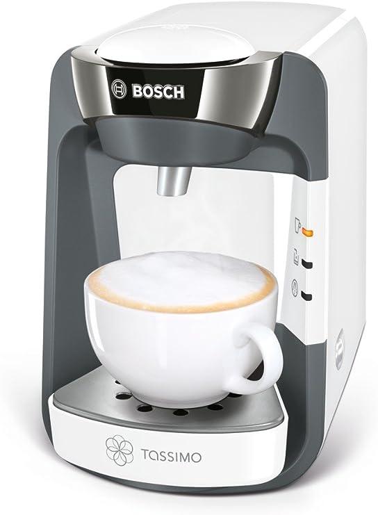 Bosch TAS3204 Tassimo Suny, Cafetera de Cápsulas Multibebida con Sistema SmartStart, Color Blanco: Amazon.es: Hogar