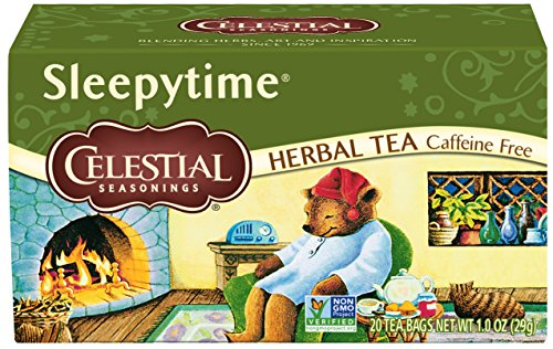 (Celestial Seasonings Herbal Tea, Sleepytime, 20 Count, Pack of 6)