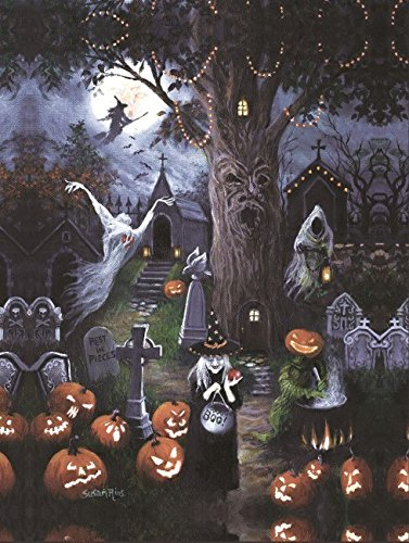Halloween Night Pumpkin Cemetery 300 Piece Jigsaw Puzzle by SunsOut