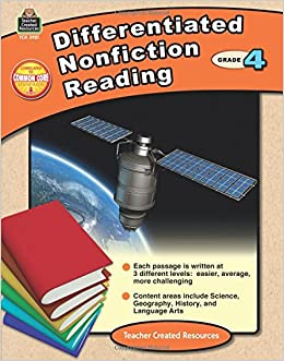Differentiated Nonfiction Reading Grd 4