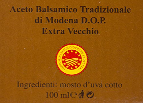Balsamic Vinegar of Modena Traditional 25 year old DOP certified. Highest score from The Consortium of Modena. Aceto Balsamico Tradizionale Extra Vecchio. On Sale Now. by The Balsamic Guy (Image #6)