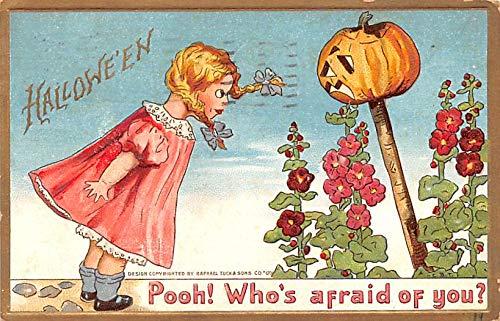 Halloween Post Card Old Vintage Antique Raphael Tuck & Sons Publishing 1911