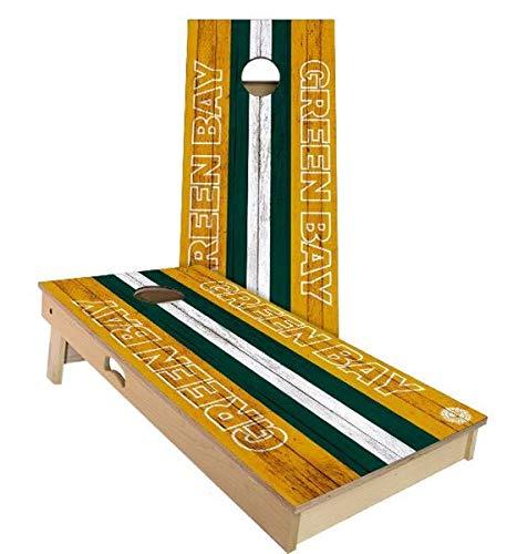 【超ポイント祭?期間限定】 Skip's Garage グリーンベイ フットボール A. コーンホールボードセット – ライト サイズとアクセサリー – ボード2枚 フットボール、バッグ8枚など B07N4D6XDH A. 2x3 Boards (Corn Filled Bags)|C.付属品 (2) コーンホールボード ライト A. 2x3 Boards (Corn Filled Bags), Tiger Liry:76085a35 --- staging.aidandore.com