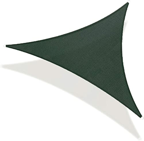 REPUBLICOOL Triangle 20'x20'x20' Green Sun Shade Sail UV Block Awning Cover