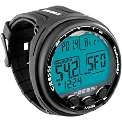 The Giotto is the first Mixed Gas dive computer designed and built entirely by Cressi The 3 button interface makes it effortless to program Air, Nitrox and Gauge modes from the first time a diver picks the computer up. The high-definition scr...