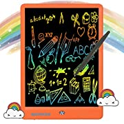 #LightningDeal Writing Tablet 10 Inches LCD Writing Board Colorful Screen, Doodle Board Electronic Doodle Pads Drawing Board for Kids and Adults