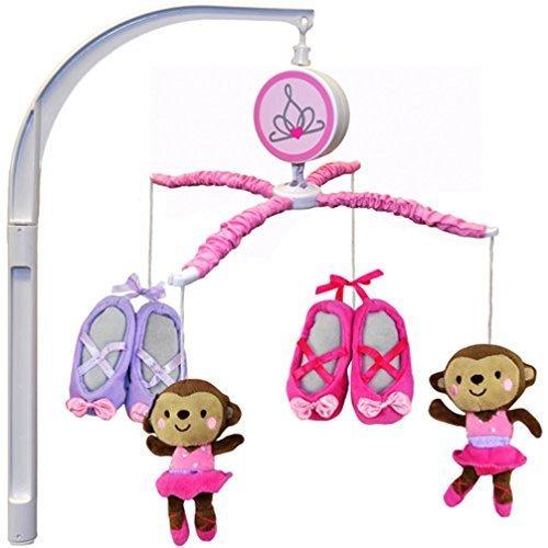 Child of Mine by Carter's Ballerina Monkey Musical Crib M...