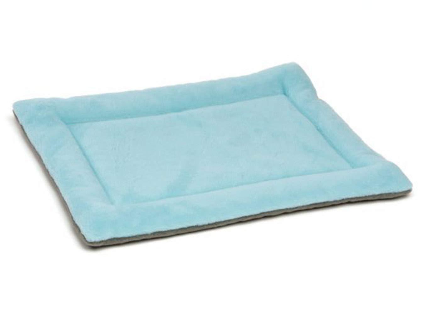 bluee S bluee S Jim Hugh Dog Mat Cozy Pet Dog Cat Coral Fleece Blanket Winter Soft Solid Puppy Cushion Pet Carpet Durable Dog Bed Pet Supplies